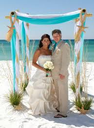 Wedding Arches Decorated With Burlap Best 25 Beach Wedding Arches Ideas On Pinterest Beach Wedding