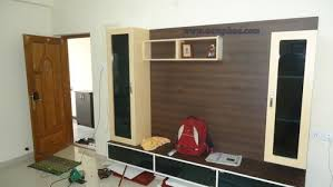Tv Unit Design For Hall by Interior Decorating Living Room Tv Unit At Rs 35000 Sft
