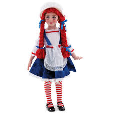 toddler girl costumes yarn babies rag doll girl toddler child costume children