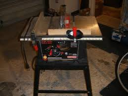 craftsman 10 portable table saw review craftsman 21802 13 amp 120 volt 10 table saw model number