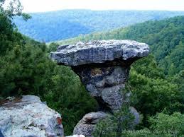 Arkansas forest images Pedestal rock arkansas ozark st francis national forest 6 23 jpg