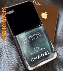 nail polish black pearl 513 iphone 4 4s 5 5s 5c 6 samsung s3 s4 s5