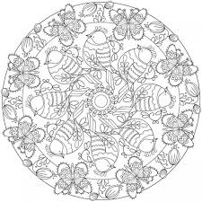 download spring mandala coloring u2013 stamping