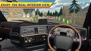 survival truck interior real garbage truck driving simulator game android apps on google