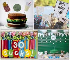 25 birthday party ideas 30th 40th 50th 60th tip junkie