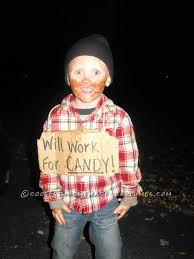 cheap costume ideas and easy bum costume idea for a child