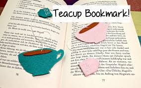 diy cute felt tea cup bookmark the corner of craft youtube