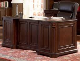 Home Office Executive Desk Office Executive Desk In Rich Finish By Coaster 800564