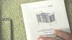 Convertible Crib Hardware by How To Install Drop Side Crib Conversion Kit A Pottery Barn Kids