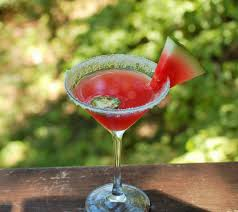 watermelon martini spicy watermelon martini genuss enjoyment