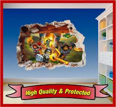 lego nexo knights hole wall art printed vinyl sticker decal lego nexo knights hole wall art printed vinyl sticker decal children boys girls