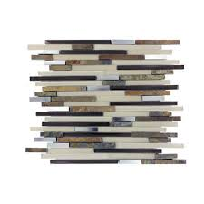 home depot backsplash black friday msi stone ulc windsor canyon interlocking glass stone metal mesh