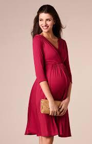 pink dress willow maternity dress raspberry pink maternity wedding dresses