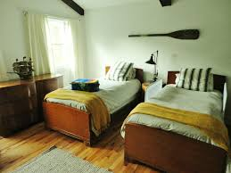 the boys lake cottage bedroom