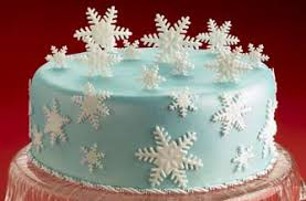 snow time christmas cake recipe goodtoknow