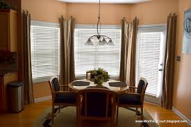 window treatments for kitchen bay windows bay window treatments