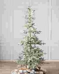 pre lit christmas trees with clear led lights balsam hill