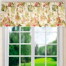 Sheer Curtains With Valance Lamoreaux Tailored Sheer Curtain Valance Reviews Joss
