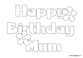 my little pony birthday coloring page my little pony happy birthday coloring page mom pages mommy bi