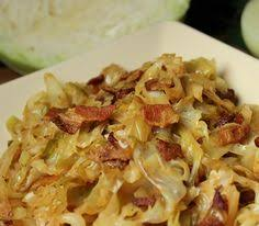 fried cabbage with sausage recipe suggests using hillshire farms