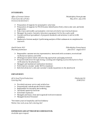 Modify Resume Entry Level Forensic Scientist Resume