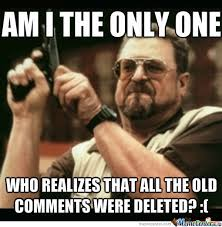 Photo Comment Meme - soo annoying every past comment feels pointless now by emiltc