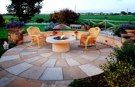 Simple Brick Patio With Circle Paver Kit Patio Designs And Ideas by Circular Patio Kits U0026 Curved Walkways Earthstone Products