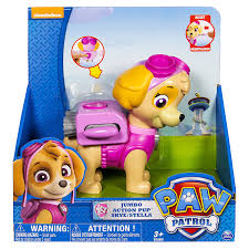 amazon paw patrol jumbo action pup toy skye toys u0026 games