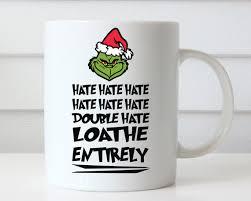 christmas mug grinch christmas mug gift custom mug ceramic mugs
