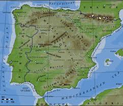 Pyrenees Mountains Map Sierra Nevada Mountains Spain Map Image Gallery Hcpr