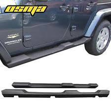 jeep wrangler side steps for sale nerf bars running boards for jeep wrangler ebay