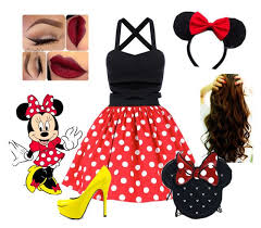 Minnie Mouse Halloween Costume Diy 25 Maquillaje Minnie Mouse Ideas Disfraces