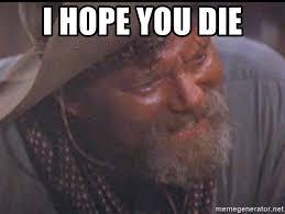 Tombstone Meme Generator - i hope you die ike tombstone meme generator
