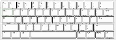 keyboard layout ansi happy hacker ripoff 60 ansi layout inspired by hhkb