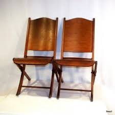 Antique Wood Chair Wooden Folding Chairs Foter