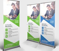design templates print simple fashion ad banner 20 professional roll up banners u0026 signage templates
