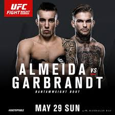 may 29 ufc fight night thomas almeida v cody garbrandt u2014 red