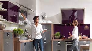 Modern Kitchen Cabinet Design Purple Kitchen Cabinets Modern Kitchen Color Schemes