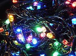 christmas tree lights amazon uk uk g set of 200 multi colour indoor outdoor battery operated multi