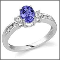 Used Wedding Rings by Pre Owned Used Tanzanite Engagement Rings