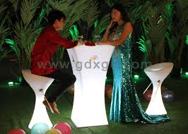event cocktail tables wholesale sale wholesale price illuminated glowing led high cocktail table