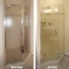 Angled Glass Shower Doors Luxe Neo Angle Shower Doors Dulles Glass And Mirror