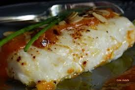 cuisiner un dos de cabillaud dos de cabillaud aux amandes sauce abricot côté soleils les