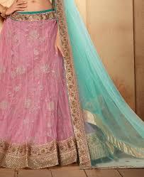 buy excellent baby pink u0026 firozy lehenga choli rkl19768 at 57 36