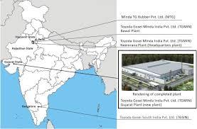 Gujarat India Map by Toyoda Gosei Establishes New Automotive Parts Plant In Gujarat