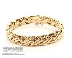 gold bangle bracelet tiffany images Tiffany gold braid bracelet jpg