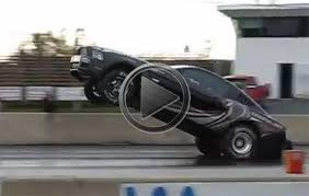 Black Mustang Crash Ford Mustang Cobra Jet Wheelie And Crash