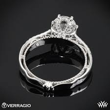 6 prong engagement ring verragio afn 5052 4 6 prong crown engagement ring 3172
