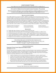 Extracurricular Activities Resume Examples by 3 Cv Examples Teacher Reporter Resume