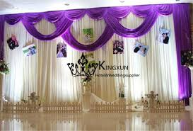 wedding backdrop curtains for sale hot sale 3m 6m wedding backdrop drape backdrop curtain include